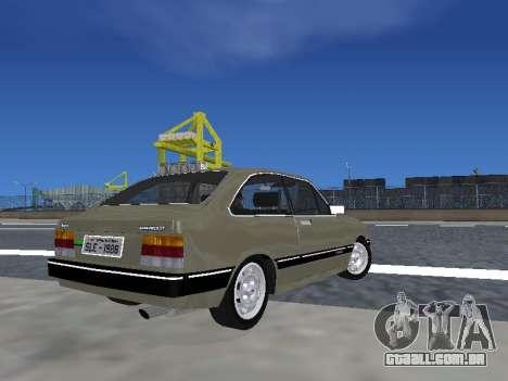 Chevrolet Chevette Hatch para GTA San Andreas esquerda vista