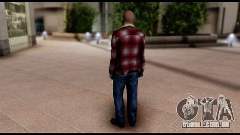 Prologue Michael Skin from GTA 5 para GTA San Andreas segunda tela