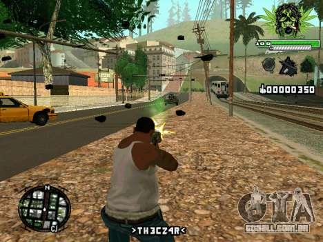 C-HUD Marihaus para GTA San Andreas segunda tela