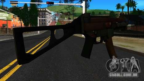UMP9 from Battlefield 4 v1 para GTA San Andreas