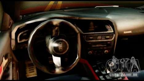 Audi RS5 2013 para GTA San Andreas traseira esquerda vista