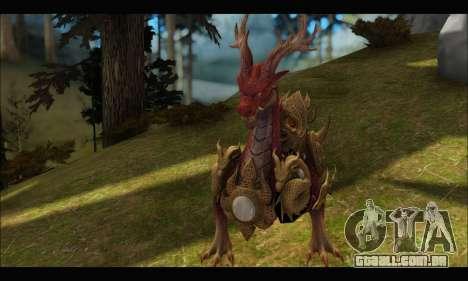 Kirin Dragon (TERA Online) para GTA San Andreas terceira tela