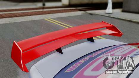Toyota Vios TRD Racing v2 para GTA San Andreas traseira esquerda vista