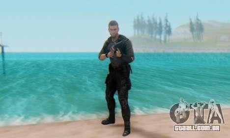 Sam Fisher - Paladin Outfit (Splinter Cell Black para GTA San Andreas quinto tela