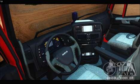 Iveco Trakker 2014 Concrete (IVF & ADD) para GTA San Andreas vista direita