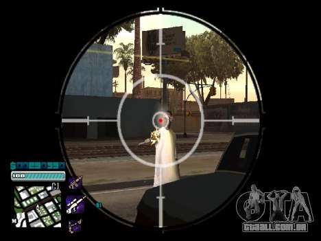 Beautiful C-HUD para GTA San Andreas segunda tela