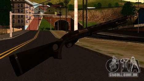 Shotgun from GTA 4 para GTA San Andreas segunda tela