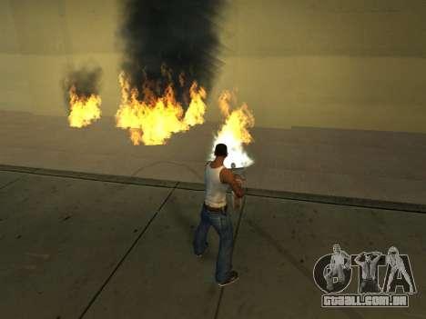 New Effects Pack White Version para GTA San Andreas nono tela