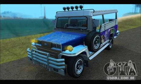 Jeepney from Binan para GTA San Andreas