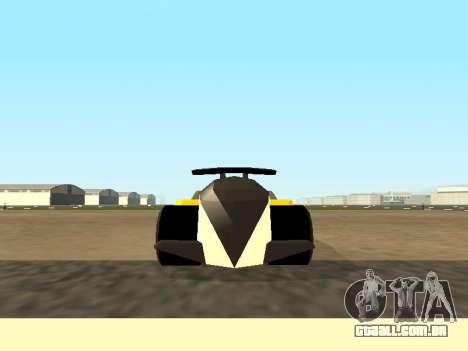 RC Bandit (Automotive) para GTA San Andreas traseira esquerda vista