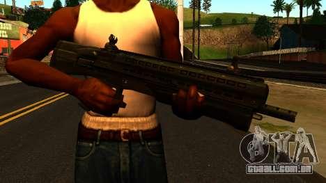 UTAS UTS-15 from Battlefield 4 para GTA San Andreas terceira tela