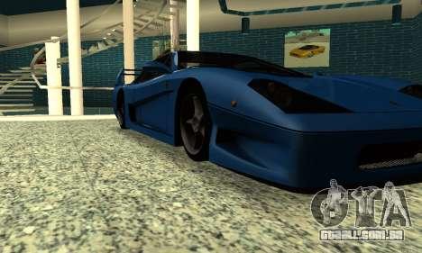 HD Turismo para GTA San Andreas vista direita