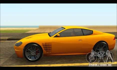 Ocelot  F620 (GTA V) para GTA San Andreas esquerda vista