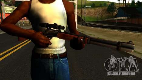 Marlin Model 1895 from Gotham City Impostors para GTA San Andreas terceira tela
