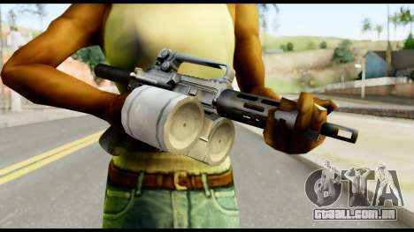 Patriot from Metal Gear Solid para GTA San Andreas terceira tela