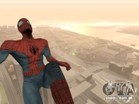 Spiderman 3 Crawling para GTA San Andreas terceira tela