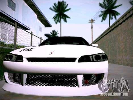 Nissan Silvia S15 Roux para GTA San Andreas vista traseira