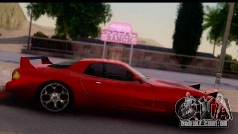 New ZR-350 (ZR-380) v1.0 para GTA San Andreas traseira esquerda vista