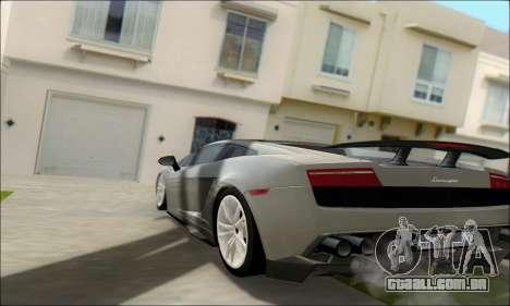 White Water ENB para GTA San Andreas por diante tela