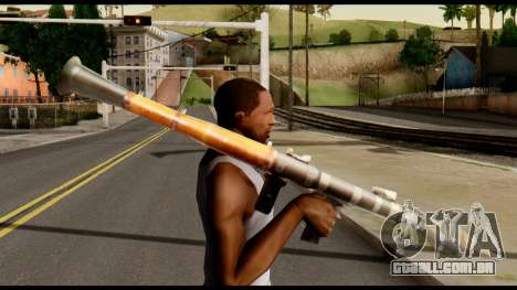 RPG7 from Metal Gear Solid para GTA San Andreas