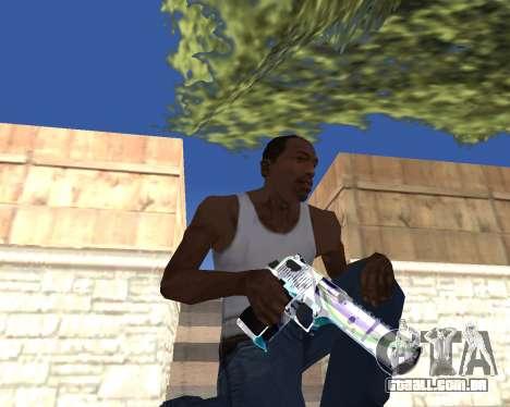 Graffity weapons para GTA San Andreas sexta tela