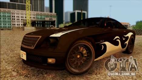 Schyster Fusilade Sport 1.0 (HQLM) para GTA San Andreas vista interior
