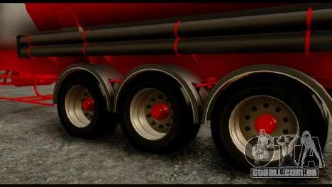 Mercedes-Benz Actros Trailer ND para GTA San Andreas vista direita