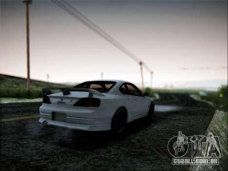 Nissan Silvia S15 Roux para GTA San Andreas esquerda vista