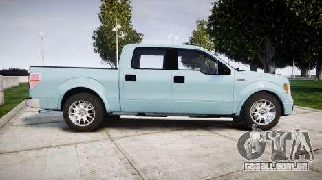 Ford Lobo 2012 para GTA 4 esquerda vista
