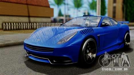 GTA 5 Dewbauchee Massacro Racecar para GTA San Andreas