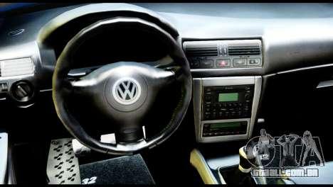 Volkswagen Golf MK4 R32 Stance v1.0 para GTA San Andreas vista direita