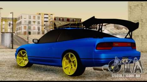 Nissan Silvia S13 Sileighty Drift Moster para GTA San Andreas esquerda vista