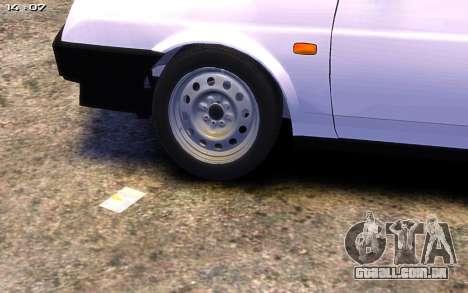 VAZ 21099 para GTA 4 vista direita