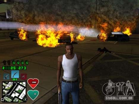 C-HUD Classic v4.1 para GTA San Andreas segunda tela