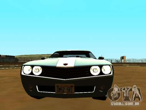 GTA 5 Bravado Gauntlet para GTA San Andreas vista direita