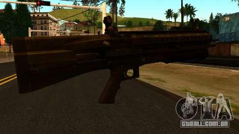 UTAS UTS-15 from Battlefield 4 para GTA San Andreas segunda tela