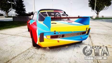 BMW 3.0 CSL Group4 1973 Art para GTA 4 traseira esquerda vista