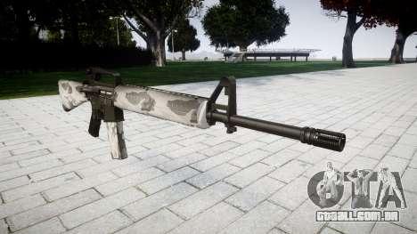 O M16A2 rifle yukon para GTA 4