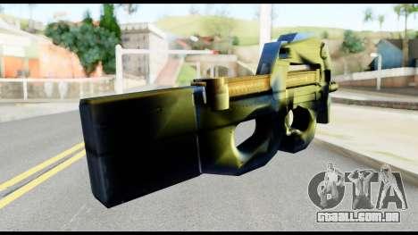 P90 from Metal Gear Solid para GTA San Andreas