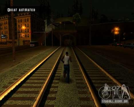 Colormod Dark Low para GTA San Andreas oitavo tela