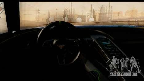 New ZR-350 (ZR-380) v1.0 para GTA San Andreas vista superior