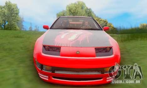 Nissan 300XZ The Rolling para GTA San Andreas vista traseira