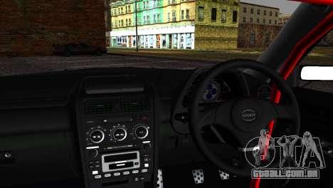 Toyota Altezza DC Hunter para GTA San Andreas traseira esquerda vista