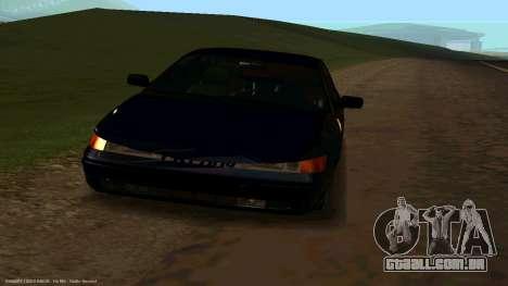VAZ 21123 Bad Boy para GTA San Andreas vista direita