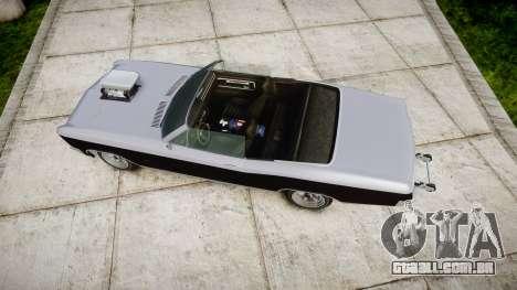 GTA V Albany Buccaneer paint2 para GTA 4 vista direita