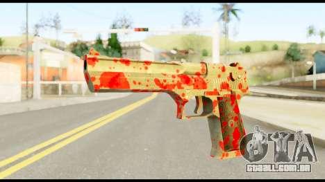 Desert Eagle with Blood para GTA San Andreas