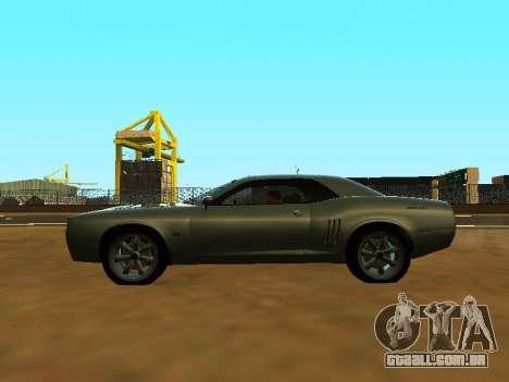 GTA 5 Bravado Gauntlet para GTA San Andreas vista interior