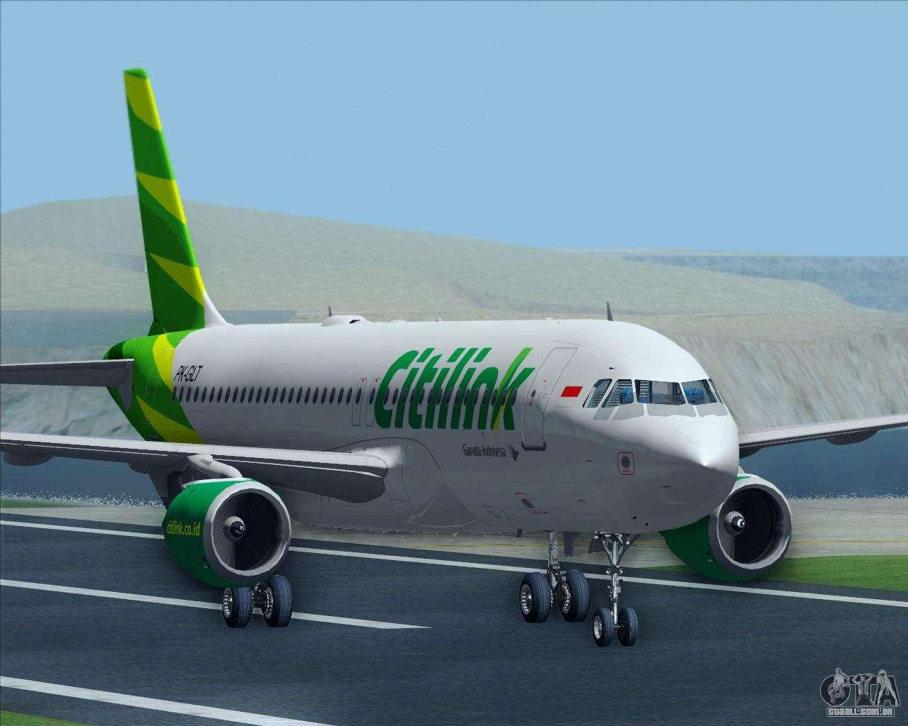 Airbus a320 200 citilink para gta san andreas reheart Image collections