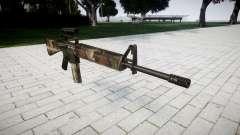 O M16A2 rifle [óptica] erdl para GTA 4