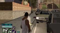 Beautiful C-HUD para GTA San Andreas